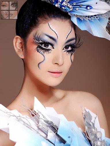 化妆造型:李 萍 模特:徐 霞 摄影:sissi 后期:李京蔚图片