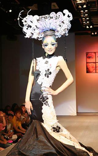 2009杭州毛戈平形象设计艺术学校第3期学员作品展