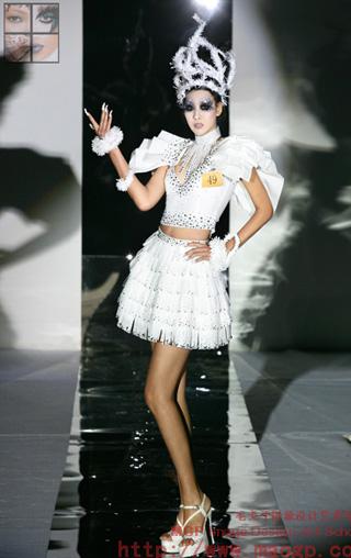 2010北京毛戈平形象设计艺术学校第6期毕业作品