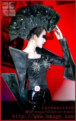 2011北京毛戈平形象设计艺术学校第6期毕业作品
