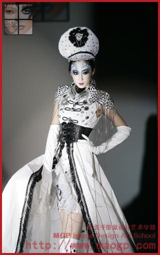 北京毛戈平形象设计艺术学校化妆造型作品-北京化妆