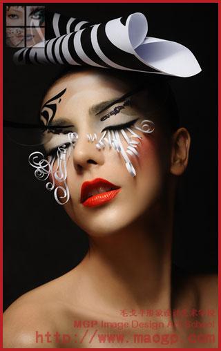 上海彩妆造型_上海时尚彩妆造型图片-上那找最新的上海时尚彩妆造型图片呢?