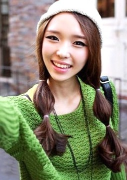 化妆_造型学校韩国女生最流行发型