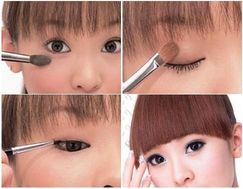 日系眼妆怎么画,洋娃娃眼妆挑战洛丽塔风格