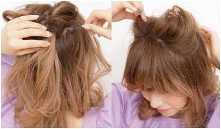 diy日本最萌小猫耳发型——毛戈平形象设计艺术学校