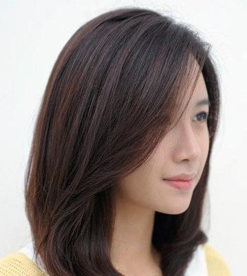 胖女孩发型长头发 胖女孩发型长头发 无刘海长头发发型