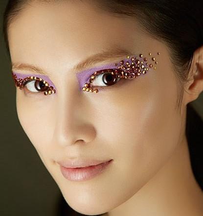 几何创意妆面设计