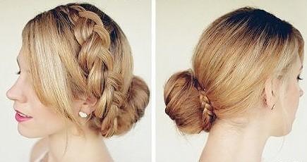 简单好看的发型步骤