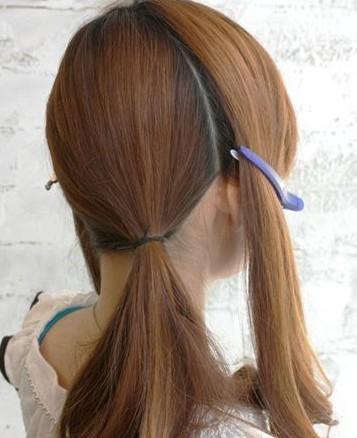丝巾让你的发型更加添彩