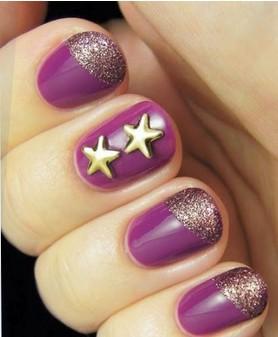 星耀指尖——星星美甲图案——毛戈平形象设计艺术