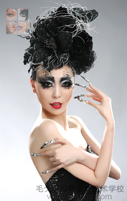 北京毛戈平学校2011年12月第10届化妆造型全科班毕业发布会