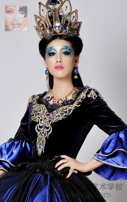 上海彩妆造型_上海毛戈平形象设计艺术学校化妆造型作品-上海化妆造型|上海 ...