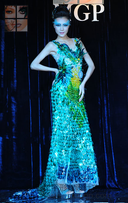 1.24上海毛戈平学校举办春季形象设计与艺术创意