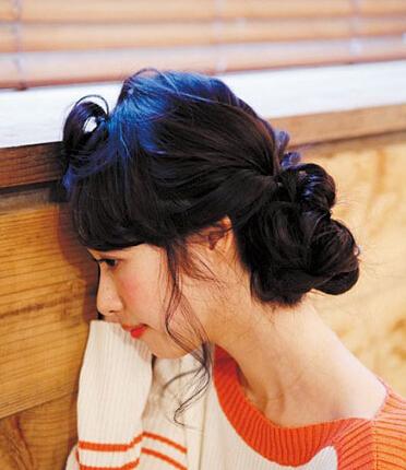 两款快手发型也能让周末约会的你美美哒图片