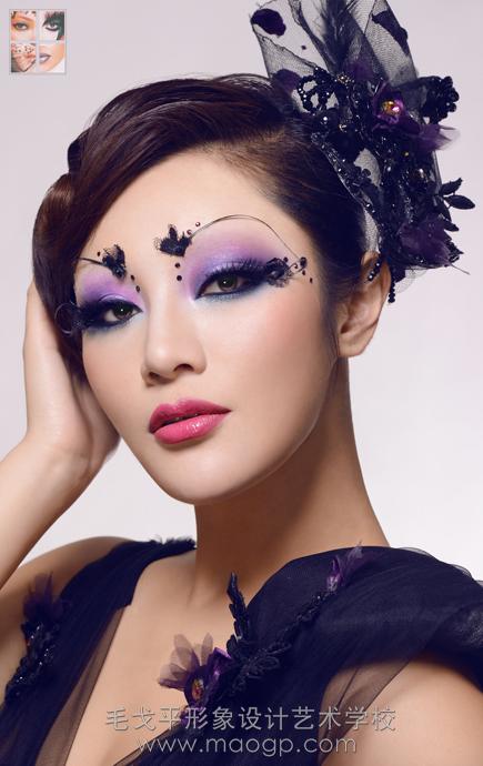 在成都成为一名短发设计师?--毛戈平形象形象女主是天伦图片