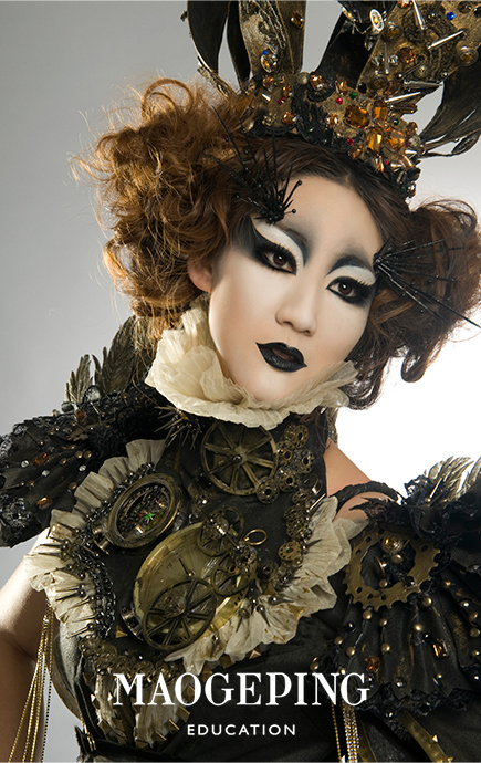 毛戈平彩妆造型图片