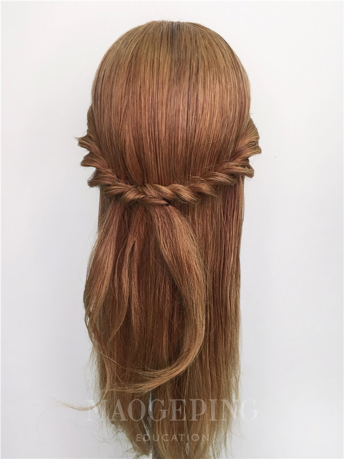 这是什么仙女发型,美得不要不要的