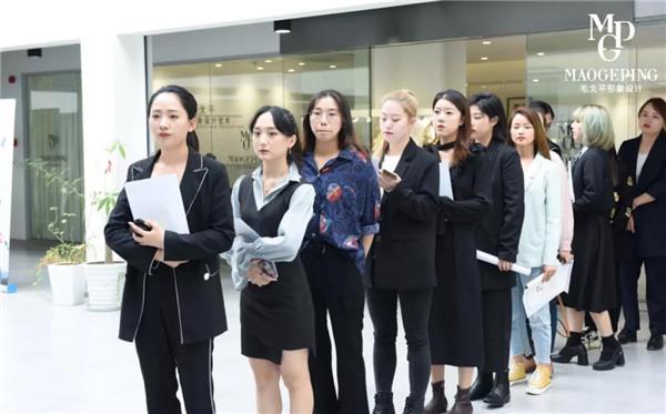 2019.10.21上海毛戈平形象设计2019年第七届校园招聘会圆满举办