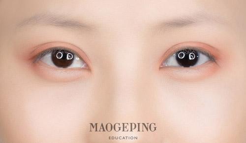 超详细的眉眼妆教程,让你更漂亮一点