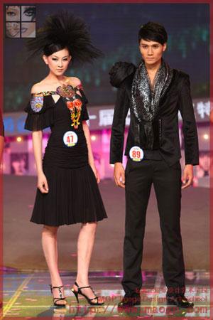 北京毛戈平形象设计艺术学校助阵2009cctv模特电视