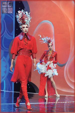 北京毛戈平形象设计艺术学校助阵cctv《时尚创意会》