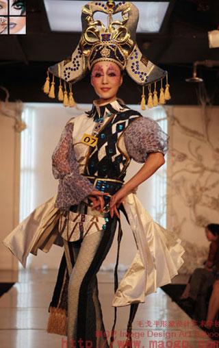 成都毛戈平形象设计艺术学校化妆造型作品-成都化妆