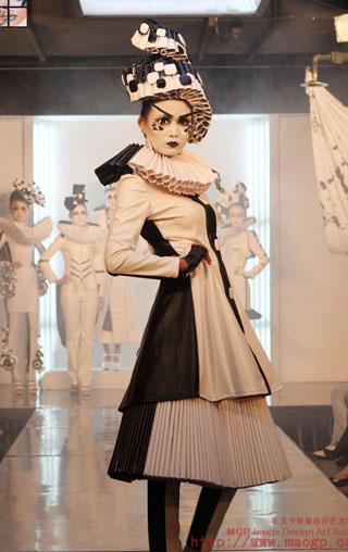 2009四川毛戈平形象设计艺术学校第5期毕业作品