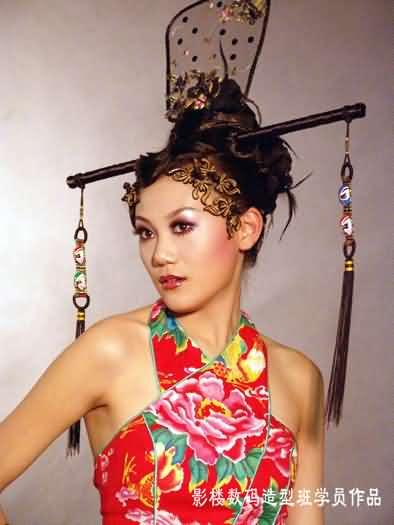 2005上海毛戈平形象设计艺术学校第7期毕业作品