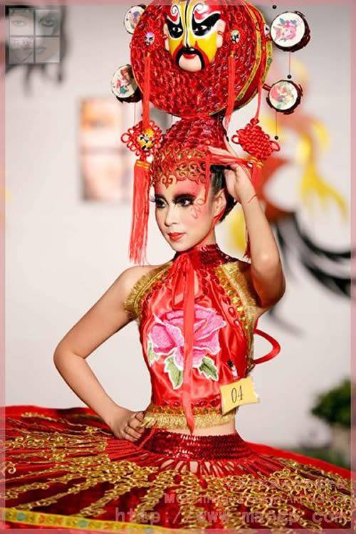 2008北京毛戈平形象设计艺术学校第5期毕业作品展