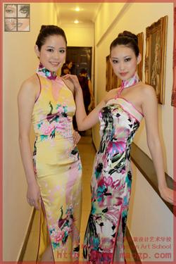上海毛戈平学校担任2010上海国际模特大赛化妆造型