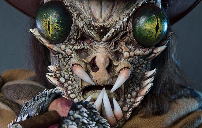 怪兽假牙课程