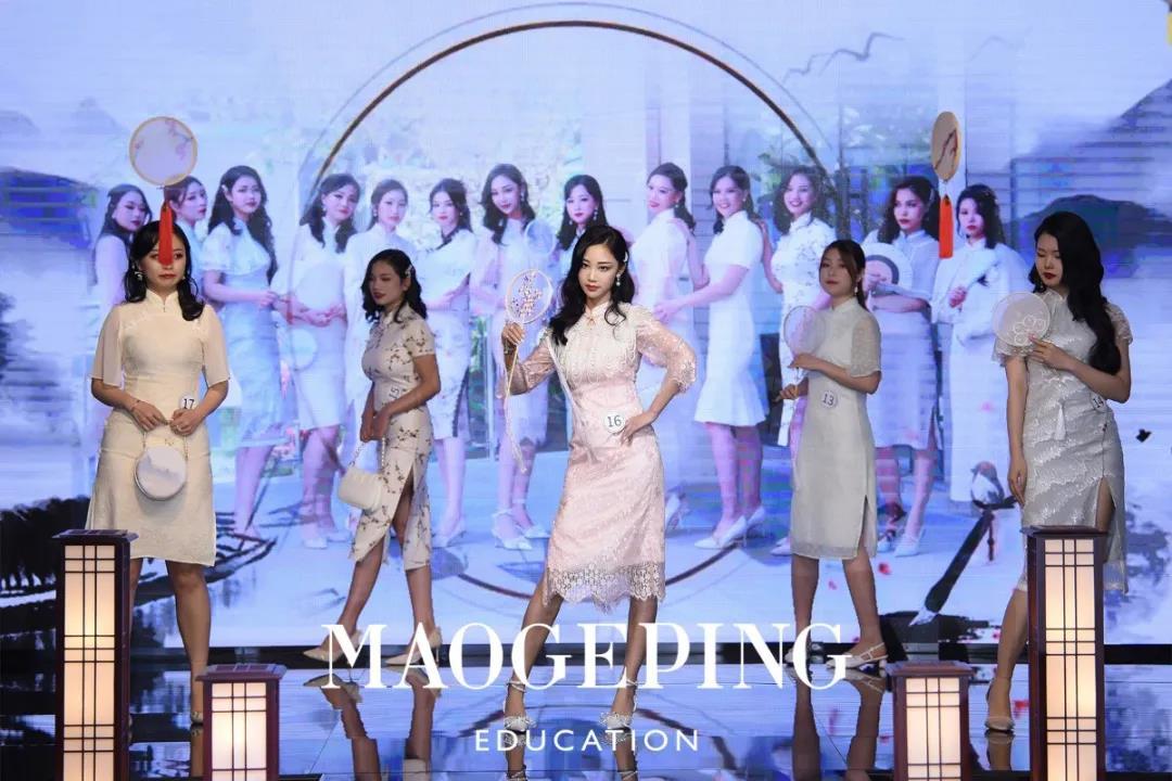 深圳毛戈平形象设计化妆造型全科1016班毕业party红毯秀盛大举行