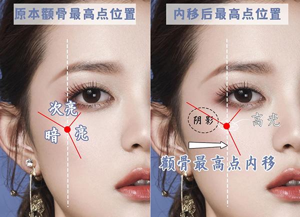 菱形脸如何化妆?一起来拯救高颧骨,专治脸型不流畅