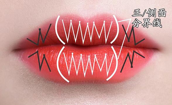 唇形不好看?整容级唇妆画法,拯救不完美唇形!