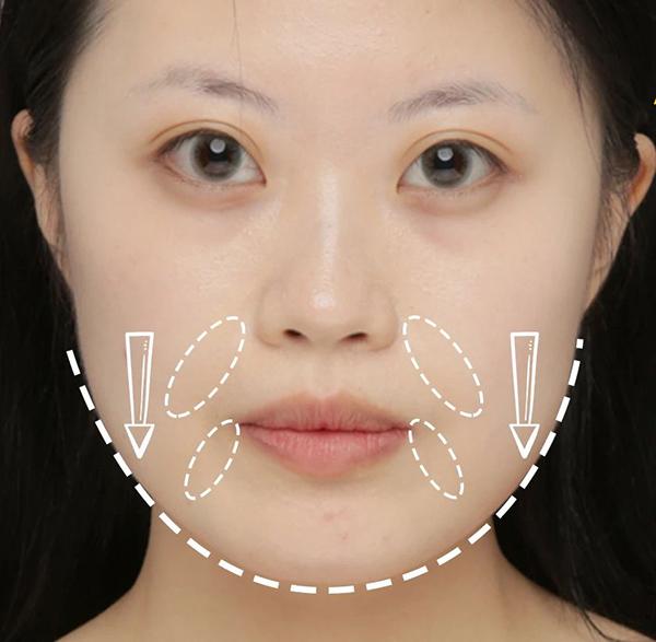 方形脸化妆秘籍,如何修容显脸小?