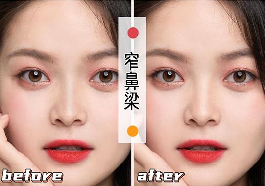六种常见鼻型矫正方法,收下这份保姆级鼻影画法技巧