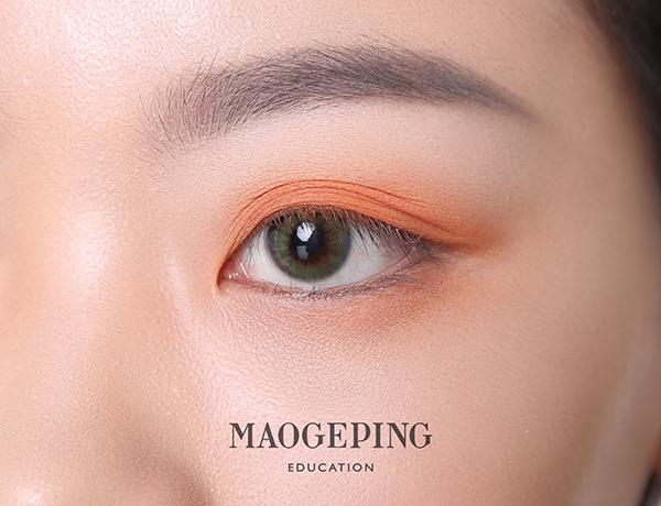 1.4眼妆九张:双眼皮褶皱部分叠加晕染.JPG